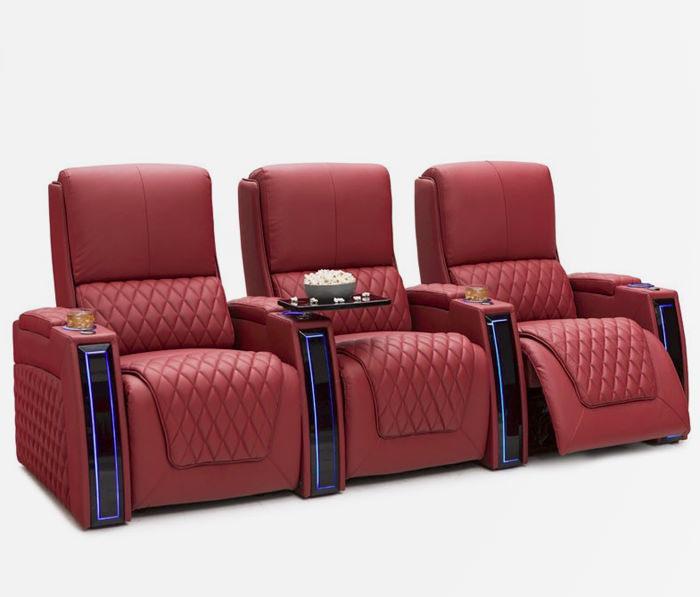 Seatcraft Apex: кинотеатральное кресло с независимой регулировкой cпинки, подголовника и сиденья