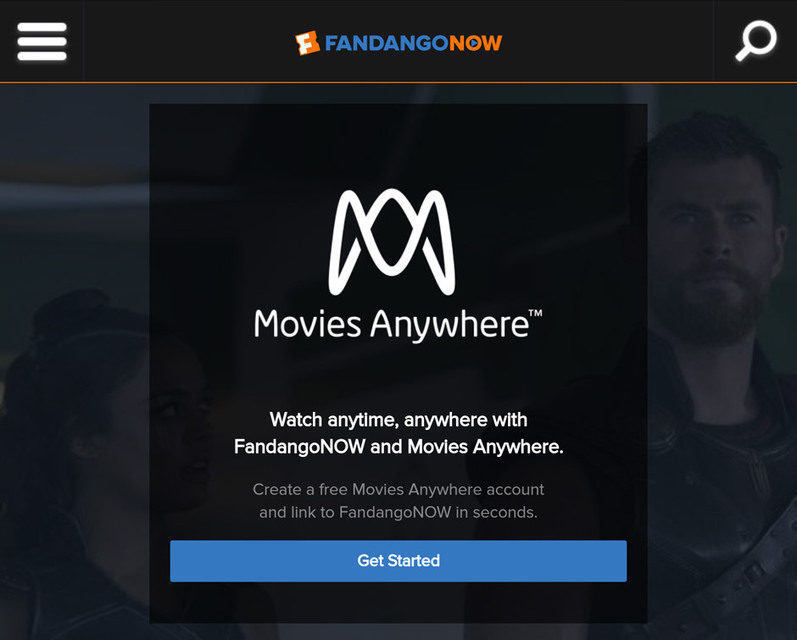 Агрегатор видеостриминга Movies Anywhere привлек нового партнера FandangoNow