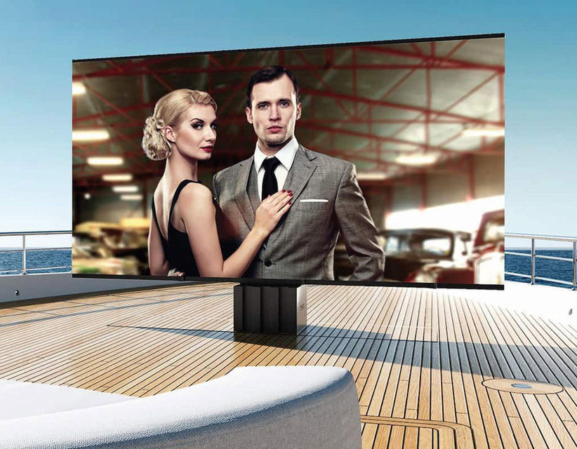 C SEED Supermarine: огромный 4K-телевизор для яхт
