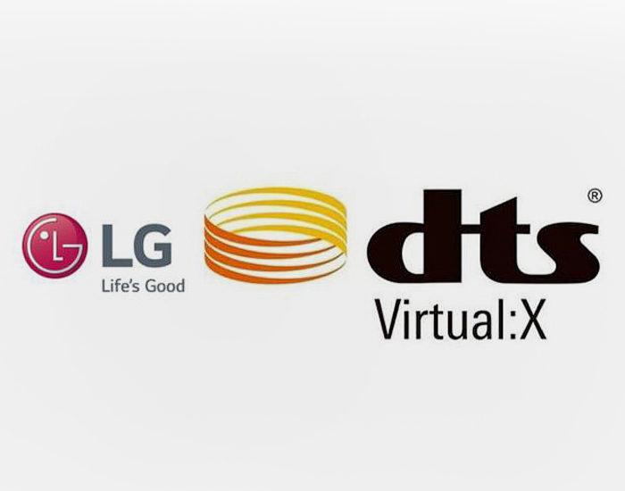LG начала выпускать UHD-телевизоры с технологией объемного звучания DTS Virtual:X