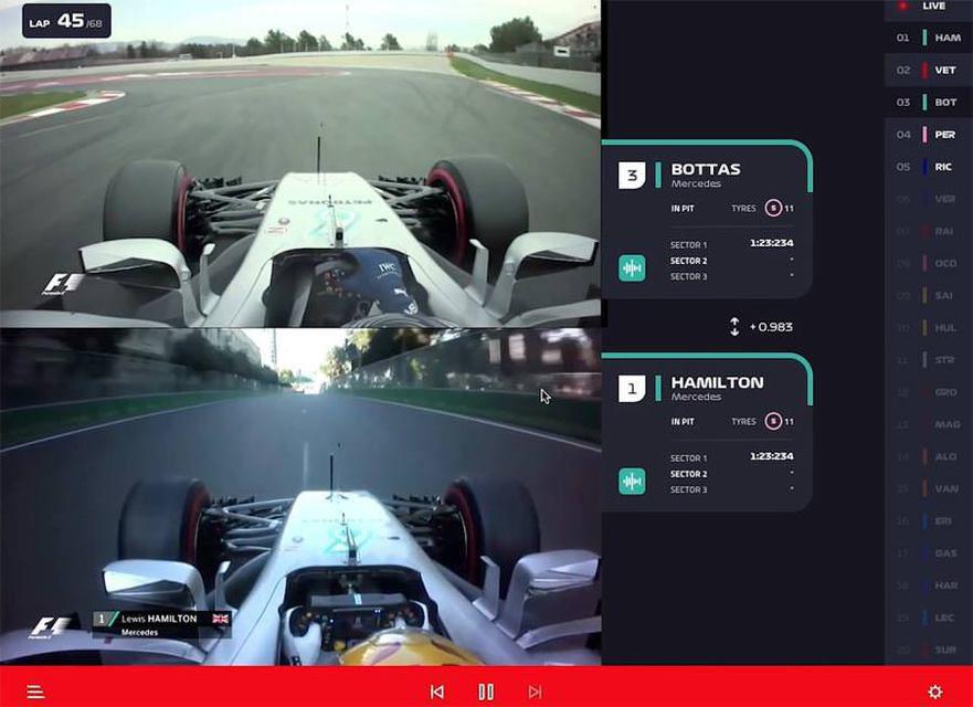 Формула 1 объявила о создании стримингового видеосервиса F1 TV