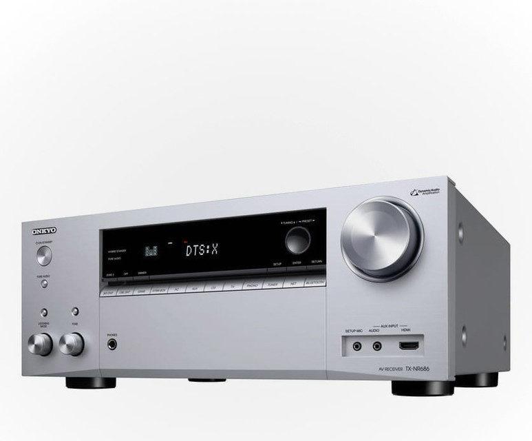 AV-ресивер Onkyo TX-NR686: поддержка 4К, сертификат THX и 165 Вт на канал