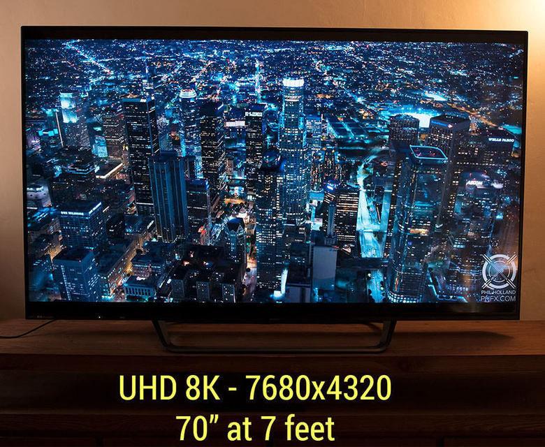 RED и Sharp совместно разрабатывают 8K-телевизор
