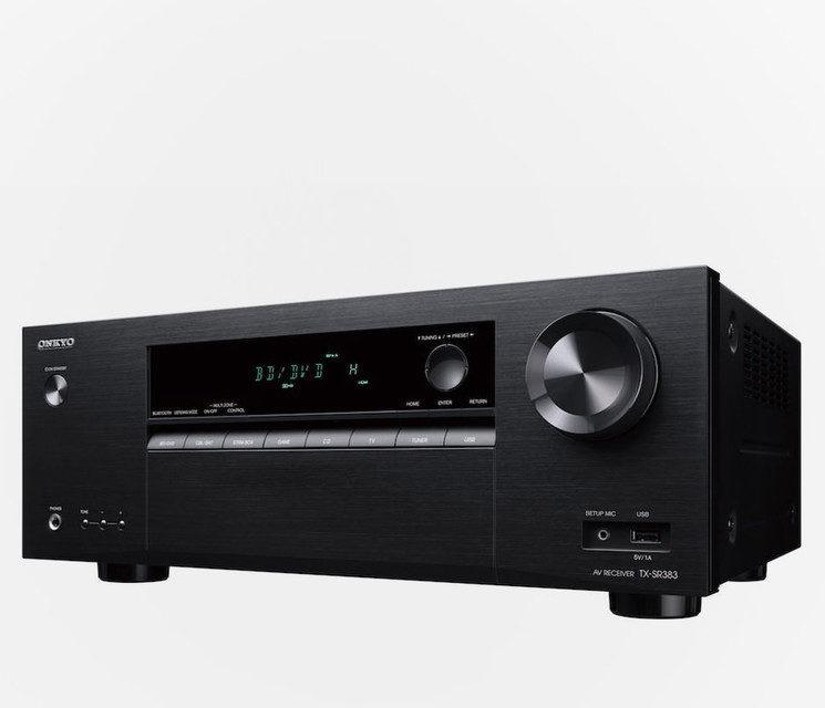 Onkyo выпустила недорогой 7.2-канальный AV-ресивер TX-SR383