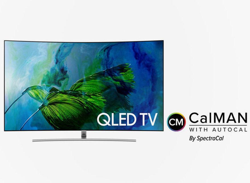 Расширенная система калибровки CalMAN будет доступна на QLED-телевизорах Samsung 2018 года