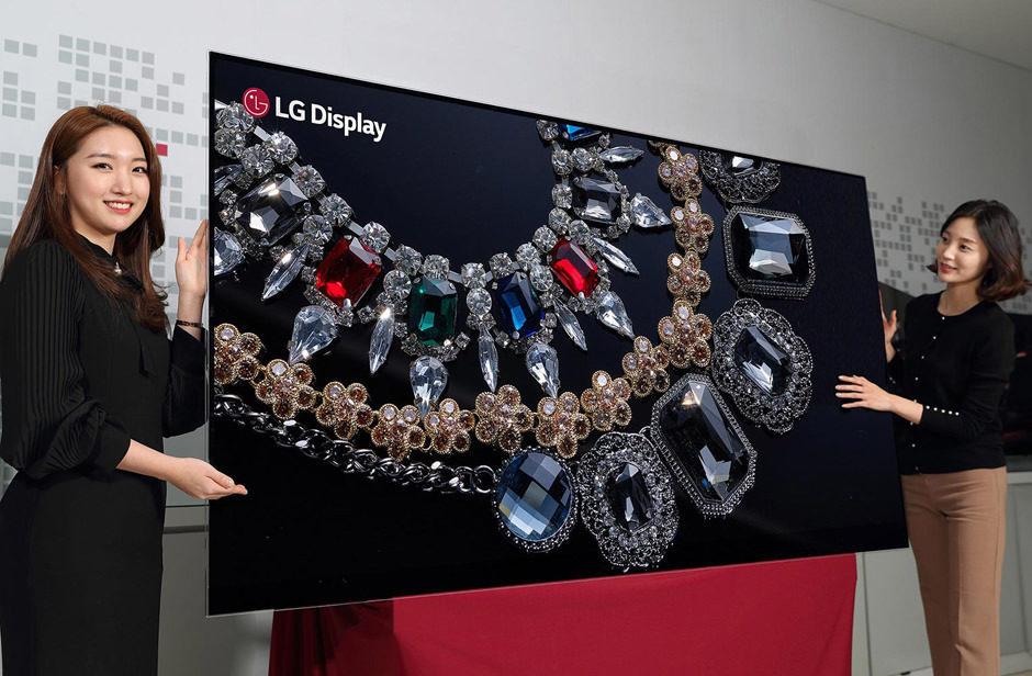 LG Display планирует увеличить производство OLED-экранов в шесть раз к 2021 году