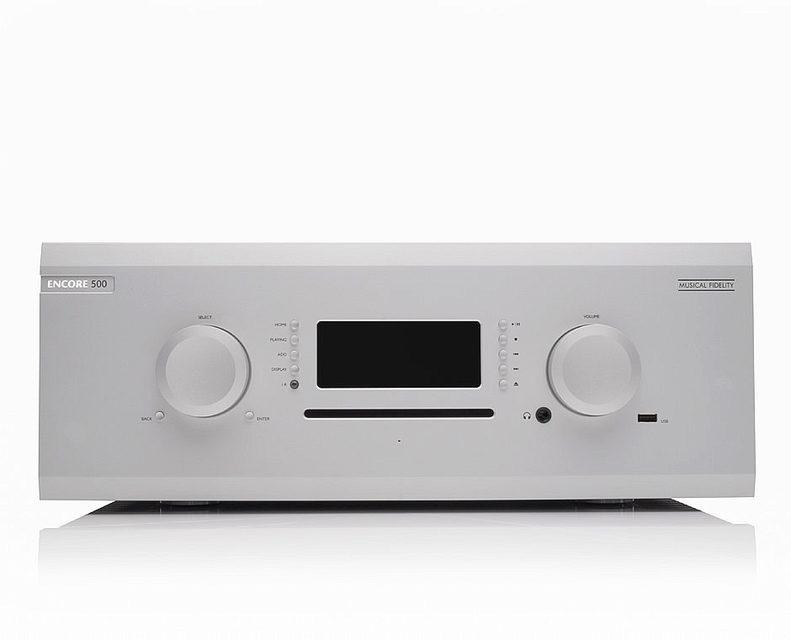 Musical Fidelity M8 Encore 500: сетевой и CD-плеер, музыкальный сервер, усилитель для наушников, пред и мощник