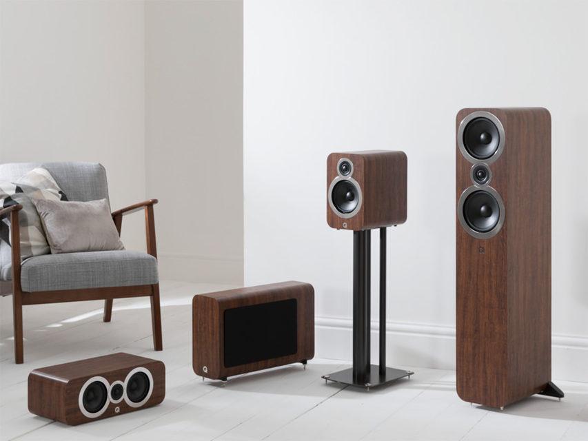 Q Acoustics анонсировала линейку акустики 3000i
