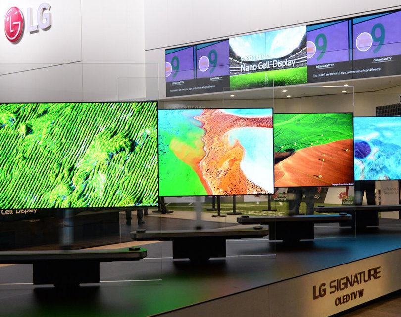Статистика: 75% проданных в 2017 году OLED-телевизоров произведены LG
