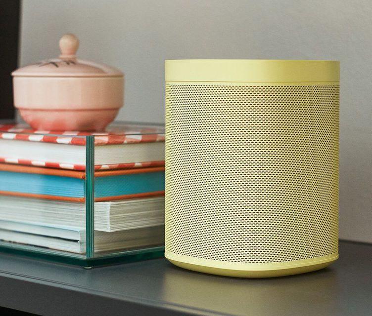 Sonos One выйдет в лимитированных расцветках от дизайн-бюро Hay