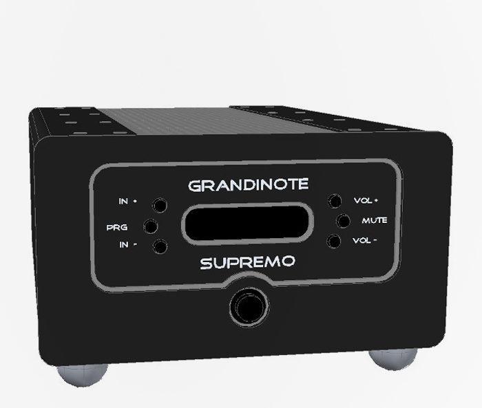 Grandinote Supremo: итальянский интегрированный усилитель класса High End