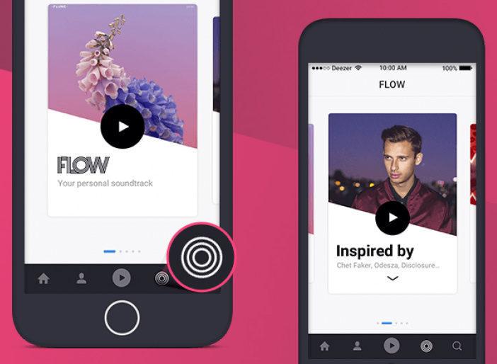 Deezer анонсировала персонализированные плейлисты на вкладке Flow