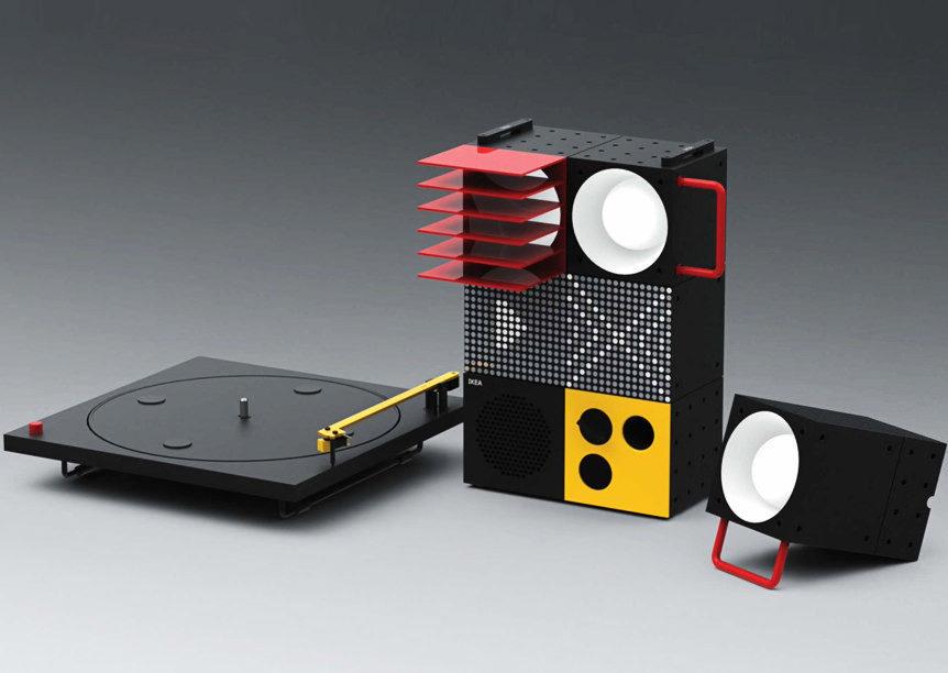 IKEA Frekvens: аудиосистема для вечеринок с вертушкой