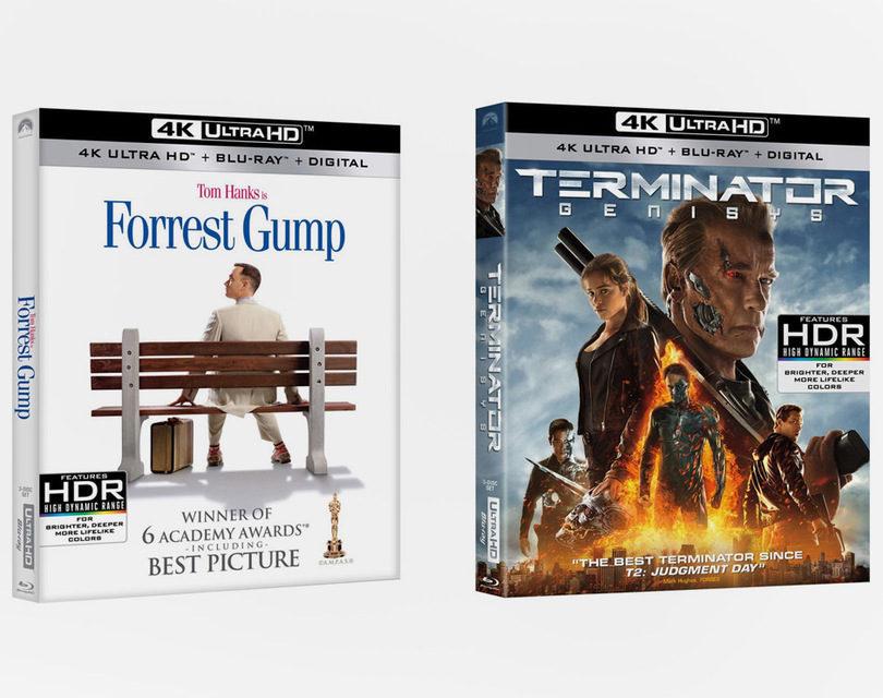 «Форрест Гамп» и «Терминатор: Генезис» выйдут на UHD Blu-ray в июне