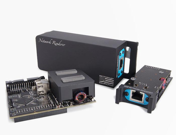 MSB выпустила второе поколение сетевого модуля Renderer