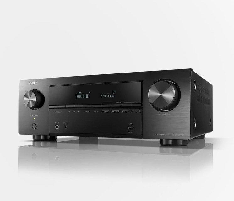 Denon выпустила недорогой AV-ресивер AVR-X550BT c поддержкой 4K/HDR и мощностью 135 Вт на канал