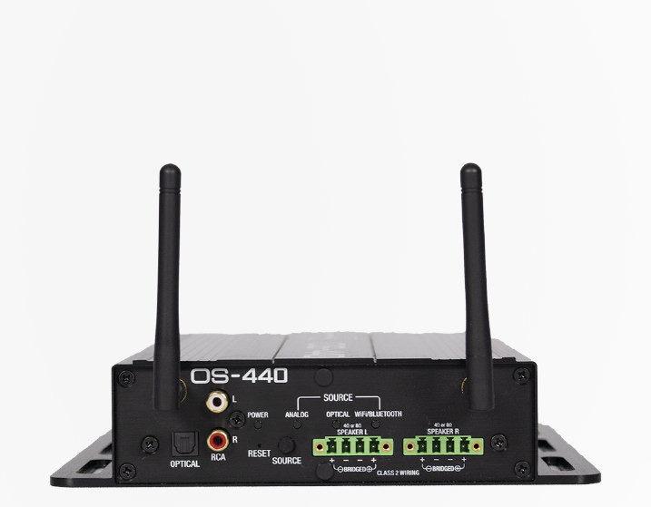 Phase Technology OS-440 от MSE Audio: уличный усилитель с Wi-Fi, Bluetooth и голосовым управлением Amazon Alexa