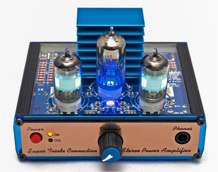 Super Triode Сonnection Mk II: набор для самостоятельной сборки лампового усилителя на схеме STC