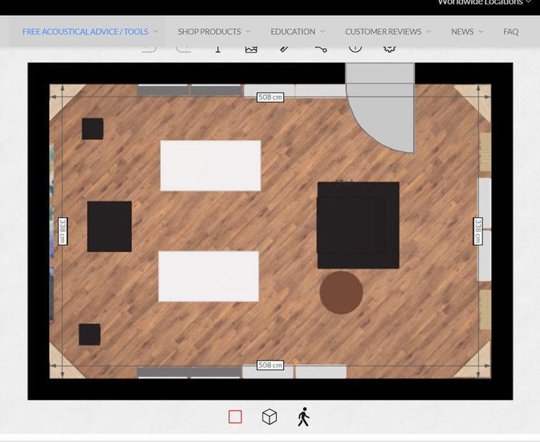 Room Acoustics Virtualizer: приложение для создания 3D-моделей помещений с функцией дополненной реальности