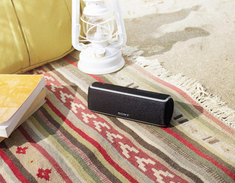 Sony Extra Bass: колонки для отдыха на природе