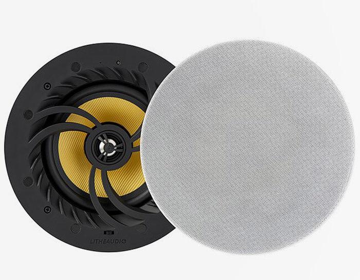 Активная потолочная акустика Lithe Audio WI-FI All-In-One: поддержка AirPlay, Spotify и Tidal