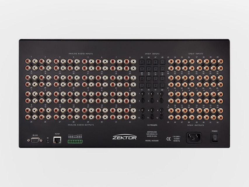 Компания Zektor обновила линейку профессиональных матричных коммутаторов для передачи аудио Pro Audio DSP