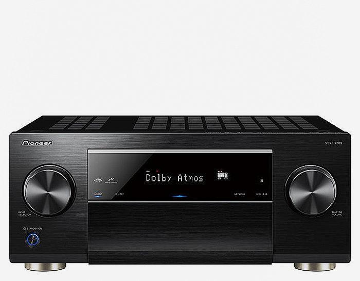 Pioneer VSX-LX503: 9.2-канальный ресивер с Dolby Atmos, DTS:X, 4K/HDR и мощностью 180 Вт на канал