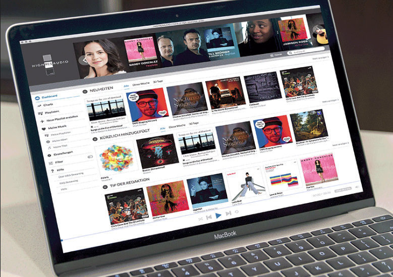 HighResAudio запустила стриминговый сервис в Европе