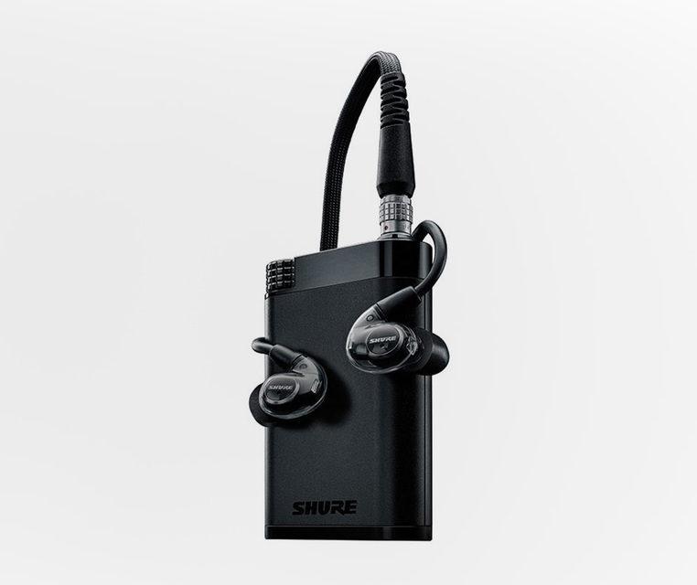 Shure выпустила аудиосистему KSE1200 с внутриканальными электростатическими наушниками и усилителем