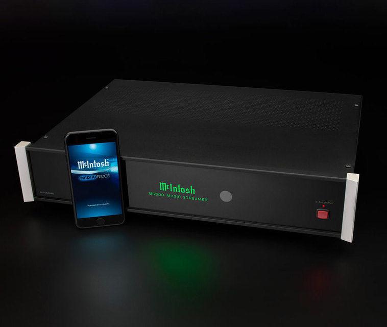 Сетевой плеер McIntosh MS500: балансные выходы, интернет-сервисы и SSD на 500 Гб