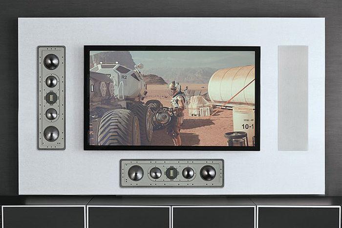 Внутристенная акустика Monitor Audio CP-IW260X и CP-IW460X: по пять драйверов на колонку