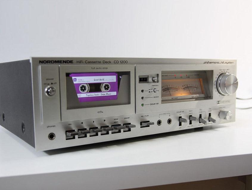 Энтузиаст превратил кассетник Nordmende CD 1200 в цифровой плеер