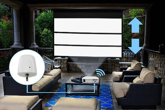 Elite Screens представила беспроводной триггер ZOMS-TR12V для моторизированных проекционных экранов Yard Master