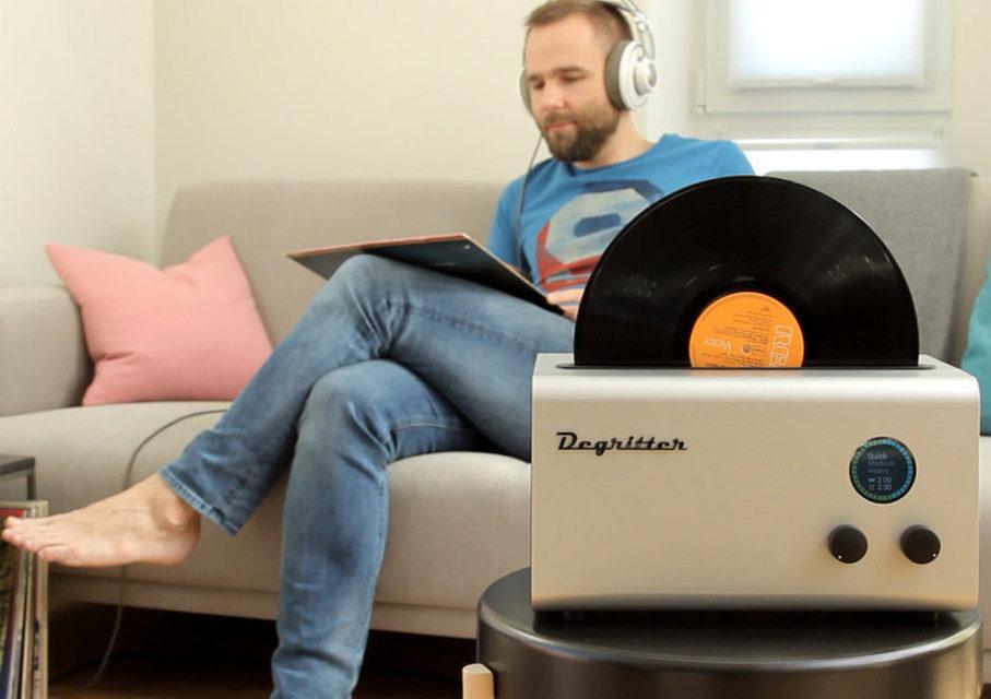 DeGritter: ультразвуковая машинка для чистки винила