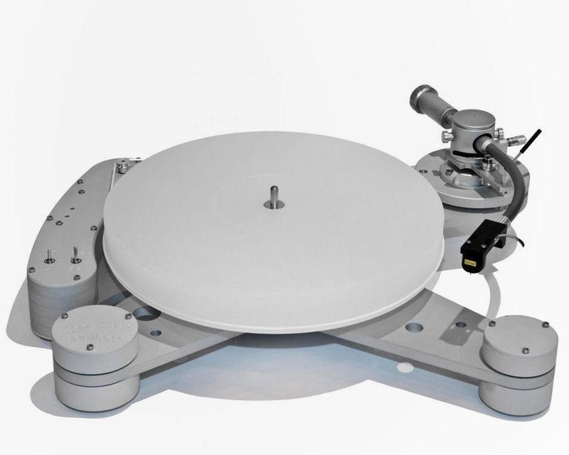 Вертушка Soulines Kubrick DCX получила в комплект тонарм Timestep T-609