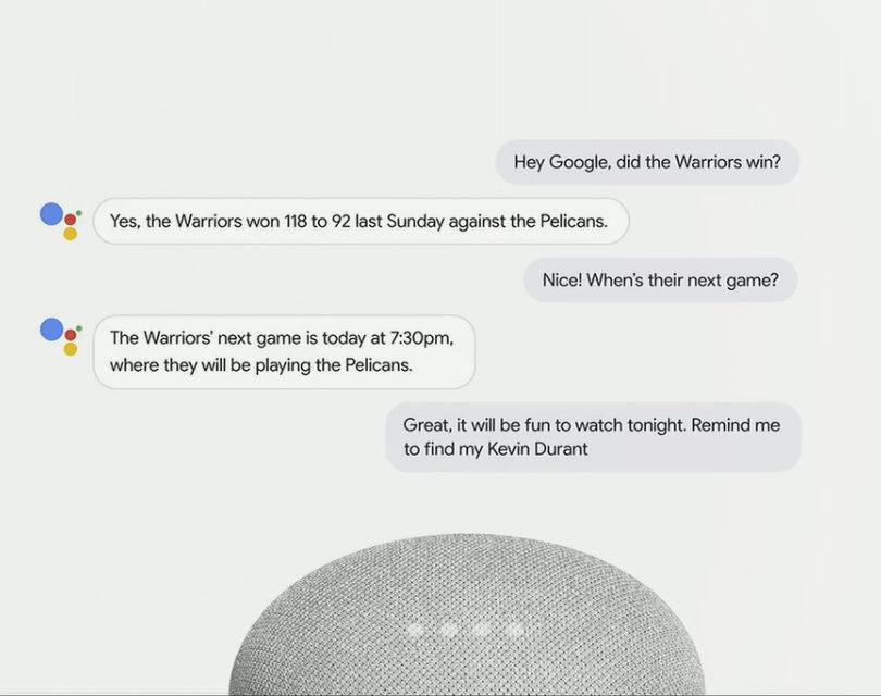 Колонки Google Home научились «поддерживать разговор» без пауз