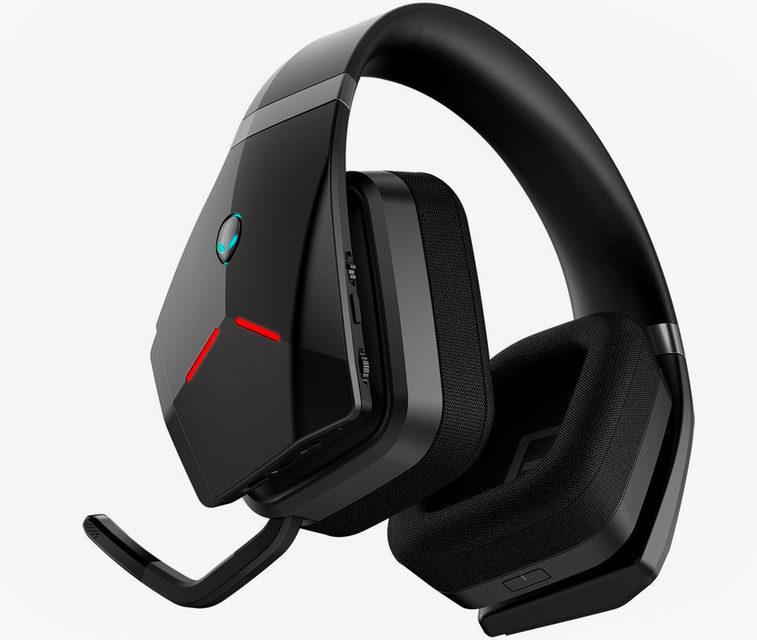 Alienware представила профессиональную беспроводную геймерскую гарнитуру Wireless Headset