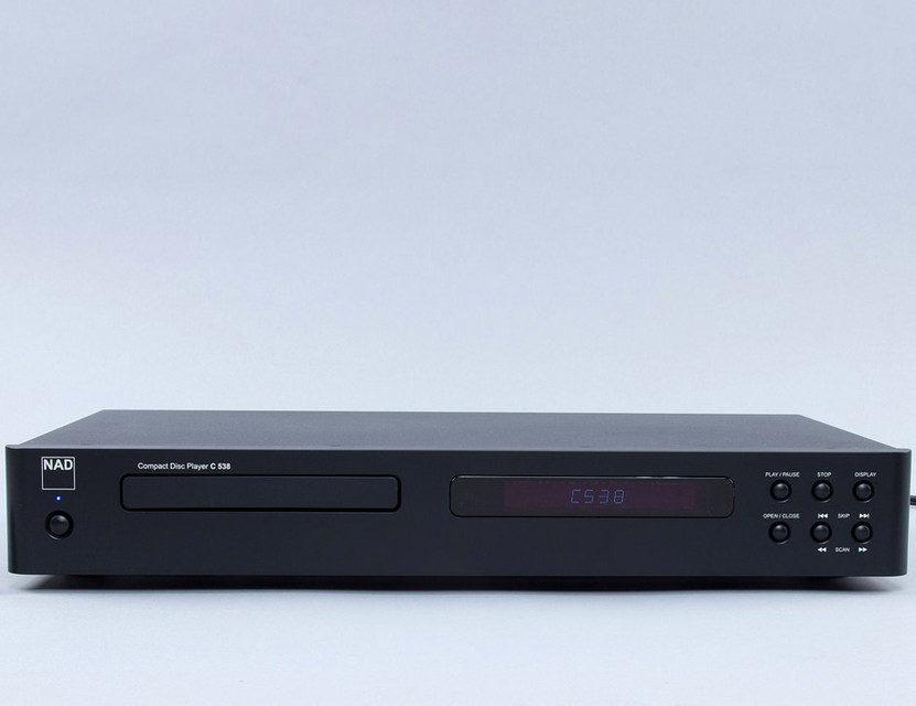 CD-проигрыватель NAD C538: тактовый генератор, ЦАП от Wolfson, низкая цена