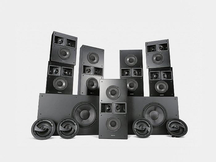 Wharfedale представила линейку встраиваемой акустики для домашних кинотеатров M-Series