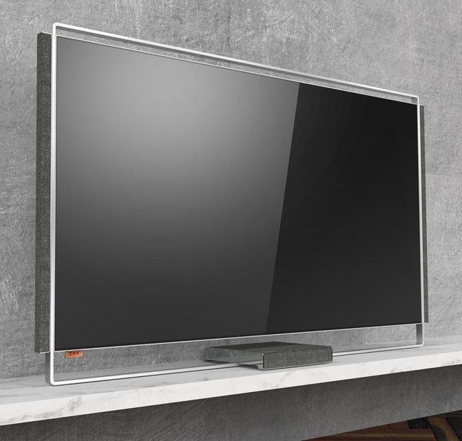 Компания TPV показала концепт OLED-телевизора Duet с колонками и сабвуфером на магнитах
