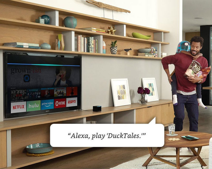 Amazon Fire TV Cube: ТВ-приставка с поддержкой 4K/HDR и смарт-хаб для дома