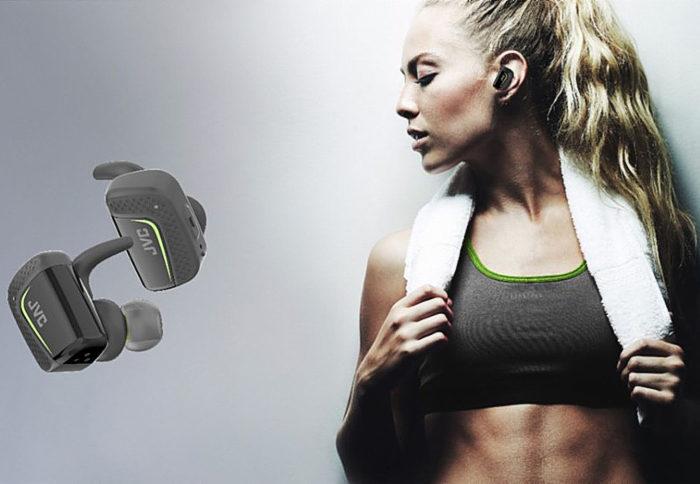 JVC представила цепкие спортивные беспроводные наушники HA-ET90BT