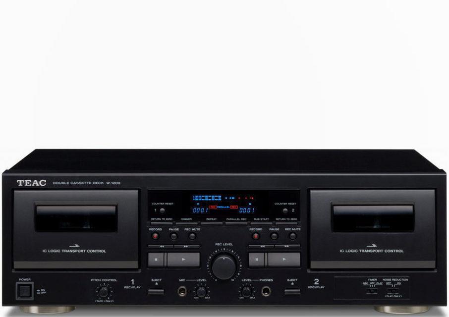 Teac представила двухкассетник W-1200