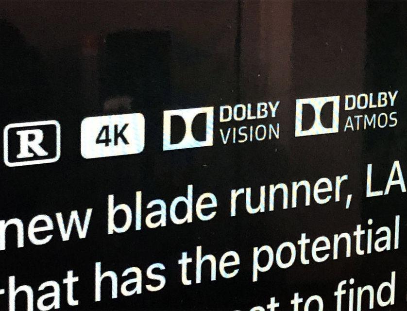 В каталоге iTunes появились первые фильмы со звуком Dolby Atmos