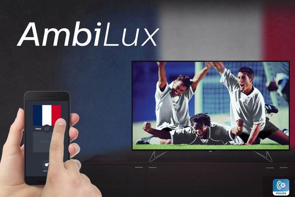 Philips добавила в подсветку Ambilight футбольной интерактивности