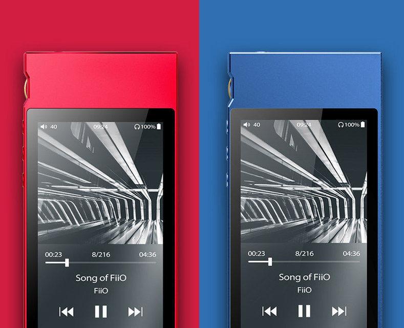 Плеер FiiO M7 вышел в красной и синей расцветках