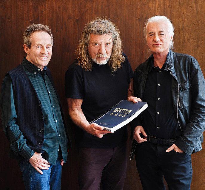 Музыканты Led Zeppelin выпустили книгу «Led Zeppelin»