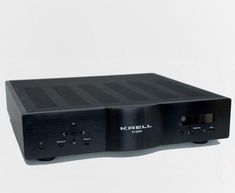 Интегрированный усилитель Krell K-300i: фирменная технология iBias, 300 Вт мощности, опциально ЦАП с декодером MQA