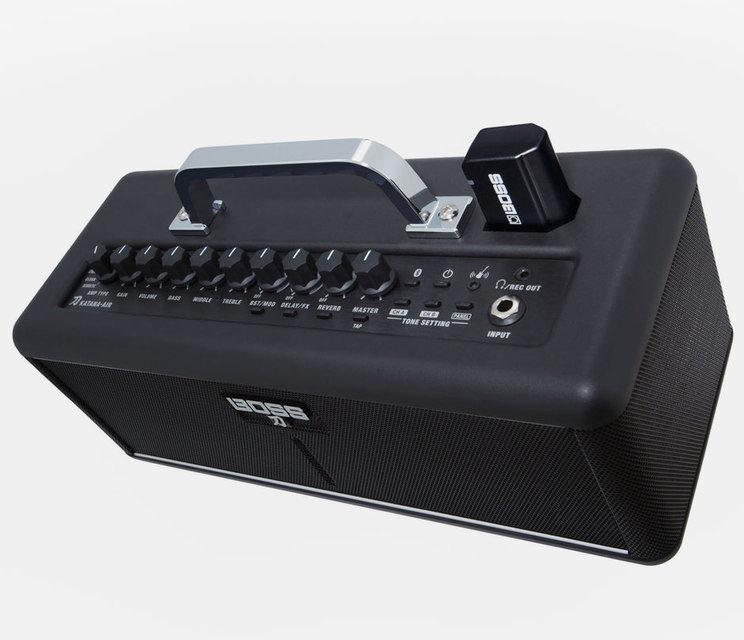 Boss Katana-Air: беспроводной домашний комбик для гитары и музыкальная система с Bluetooth