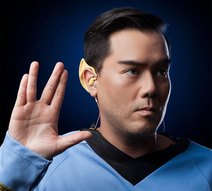 ThinkGeek выпустила беспроводные наушники в форме ушей Спока